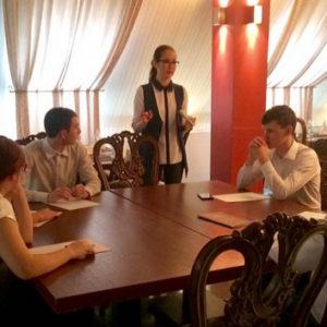 12.11.2016. Мастер-класс для студентов в Оренбурге