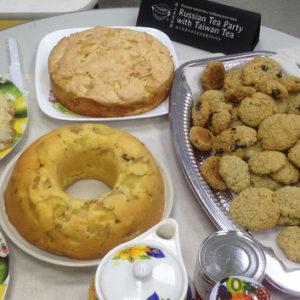 Блины и пироги для тайваньских студентов