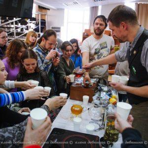 Живые чайные коктейли в Томске