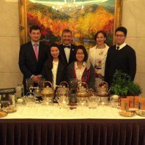 Чаепитие на приеме в Тайбэе