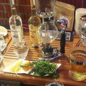 Чай-пудра и сифон в «Открытом клубе бармена»