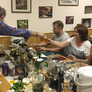 Чайный тимбилдинг для сотрудников Castorama