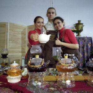 Чайный кейтеринг на дне Рождения друга