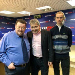 Снова в гостях на Вести FM в «Часе Гастронома»